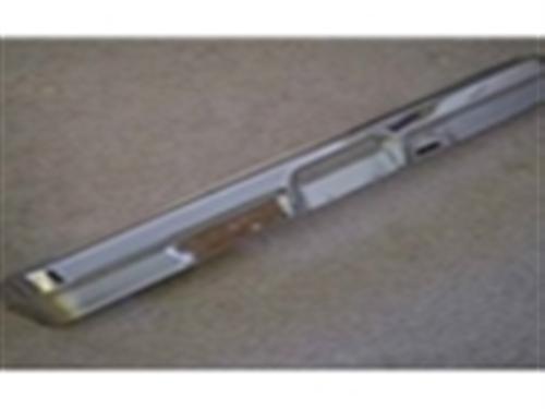 78-79 Front Bumper - Chrome w/o Pad Holes-0