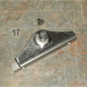66-77 Vent Bracket and Shaft - LH-0