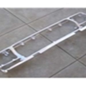 78-79 Grille Shell - OE reproduction - aluminum - bright finish-0