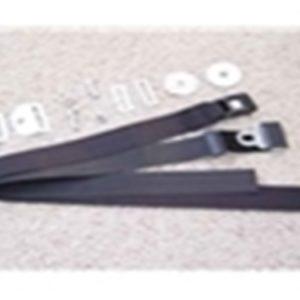 66-96 Seat Belt Kit - Black-0
