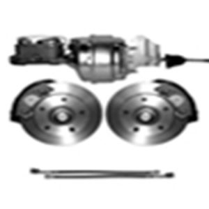 65-72 Complete Power Disc Brake Kit - 5 on 5 1/2-0