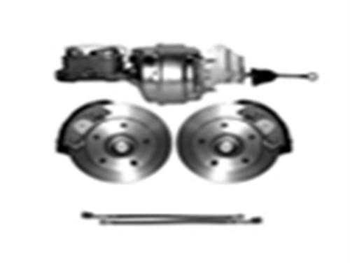 65-72 Complete Power Disc Brake Kit - 5 on 5 1/2-0