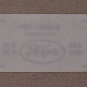 1956 FORD PRODUCT GENERATOR DECAL-0
