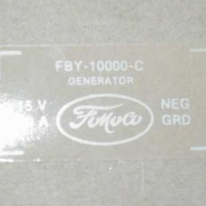1957 FORD PRODUCT GENERATOR DECAL-0