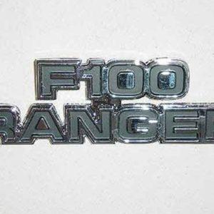 """77-79 Cowl Side Emblem - """"F100 Ranger""""-0"""