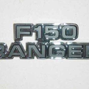 """77-79 Cowl Side Emblem - """"F150 Ranger""""-0"""