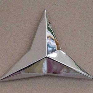 "53 Grille Emblem Star - "" 6cyl ""-0"