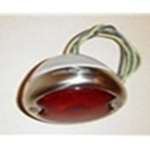 48-52 Assembly - Taillight - Stainless Steel - RH-0