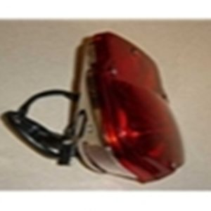 53-66 Assembly - Taillight - Stepside - LH - stainless steel-0