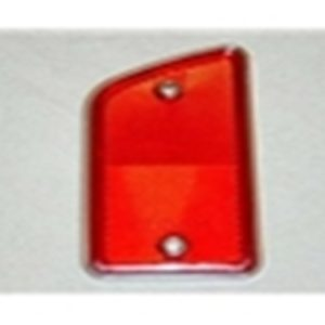 68-69 Reflector - Bedside - Styleside Red - LH-0