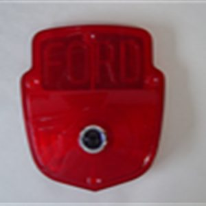 53-66 Lens - Taillight - Stepside - w/ Ford Block letters & Blue Dot-0