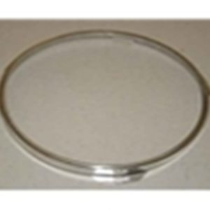 48-79 Round Headlamp Retainer Ring - Stainless Steel-0