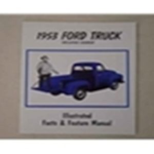 1953 FORD TRUCK ILL. FACTS/FEATURES MANUAL-0