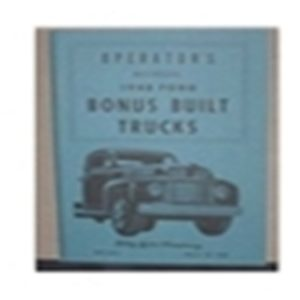 1948 FORD TRUCK OWNERS MANUAL-0