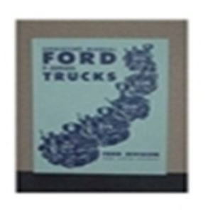 1952 FORD TRUCK OWNERS MANUAL-0