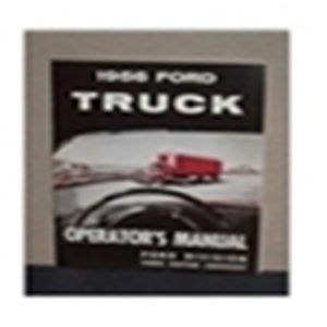 1956 FORD TRUCK OWNERS MANUAL-0
