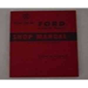 1949-52 FORD TRUCK SHOP MANUAL-0