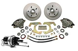 48-56 Complete Power Disc Brake Kit - 5 on 5 1/2-0