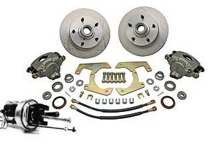 57-64 Complete Power Disc Brake Kit - 5 on 5 1/2-0