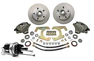 57-64 Complete Power Disc Brake Kit - 5 on 5 1/2-0
