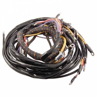 49-50 Dash Wiring Harness - 6cyl - Left Side-0