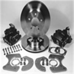 "48-56 9 INCH REAR DISC BRAKE CONVERSIONS-5.5 - flange on rear housing - 1/2"" or 3/8""-0"