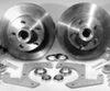 48-56 Disc Brake Conversion Kit - 5 on 4.5-0